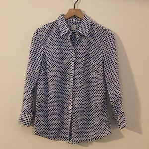 Gap Polka Dot Button Down Shirt - MP